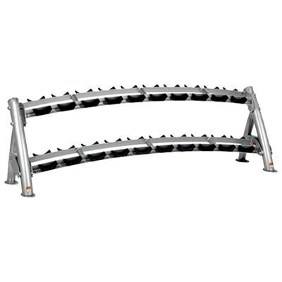 Turbuster FItness 2 Tier Dumbbell Rack ES 8212