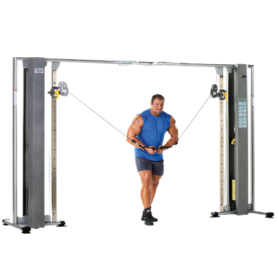 TUFFSTUFF FITNESS PROFORMANCE PLUS ADJUSTABLE CABLE CROSSOVER (PPMS 250)