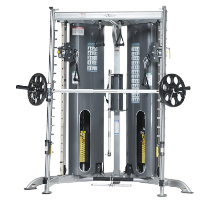 TUFFSTUFF FITNESS EVOLUTION CORNER MULTI FUNCTIONAL TRAINER WITH SMITH PRESS (CXT 225)